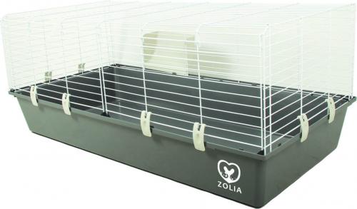 Cage ZOLIA Onyx 120cm pour lapin et cochon d'inde