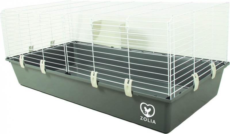 Jaula ZOLIA Onyx 120 cm para conejo y conejillo de indias