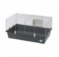 Cage ZOLIA Rabbit 120 avec râtelier pour lapin et cochon d'inde