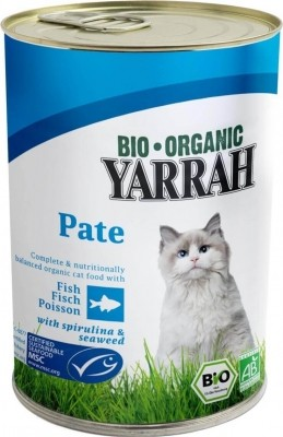 Yarrah pâtées bio pour chat
