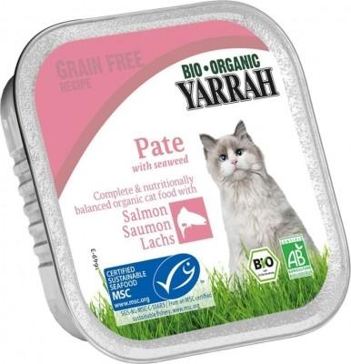 Yarrah pâtées bio sans céréales pour chat