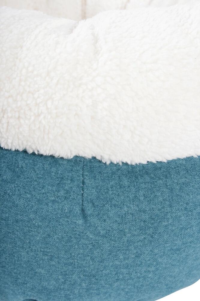 Corbeille doudou Imagine bleu pour chat_3