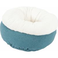 Corbeille doudou Imagine bleu pour chat (2)