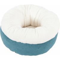 Corbeille doudou Imagine bleu pour chat (1)