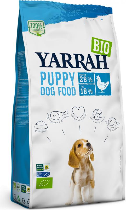 YARRAH Bio Puppy con Pollo per Cuccioli