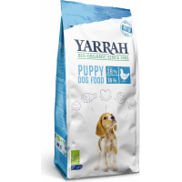 Croquettes bio Yarrah pour chiot
