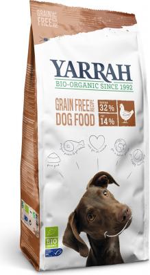 YARRAH Bio Adult au Poulet Sans Céréales pour Chien Adulte