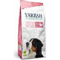 YARRAH Sensitive au poulet et au riz bio pour chien
