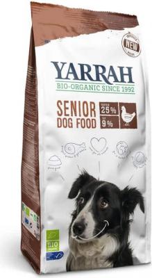 Yarrah Senior con pollo orgánico para perro senior