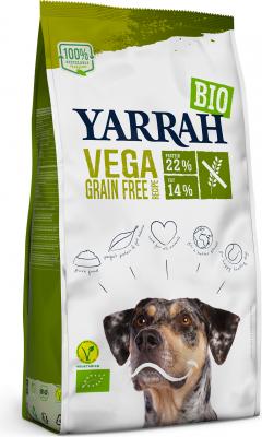 YARRAH Bio Vega 100% Vegetariane e Senza Grano per Cani Adulti