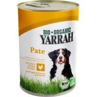 Yarrah pâtées bio sans céréales pour chien