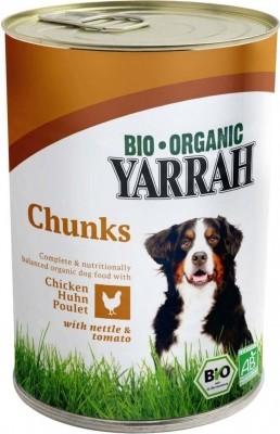 Yarrah bouchées bio pour chien