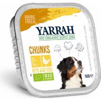 Pâtée en Bouchée Yarrah Bio 150g Sans Céréales pour Chien Adulte - 3 saveurs au choix