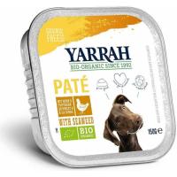 Pack de 6 Pâtées Yarrah Bio 150g Sans Céréales pour Chien Adulte