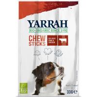 Yarrah Bâtonnets à mâcher au boeuf bio pour chien