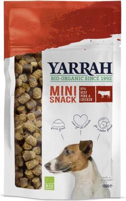 Friandises Yarrah Mini snacks bio pour chien