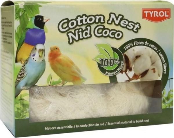 Tyrol Nid coton pour oiseaux - Fibre 100% Naturelle