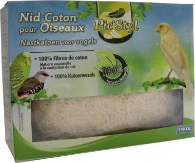 Nid coton pour oiseaux (Fibre 100% Naturelle)