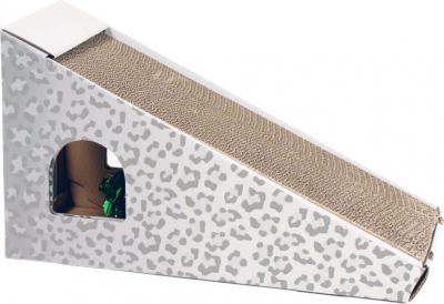 Kratzmöbel Zolia TOUFOU für Katzen aus Pappe mit Katzenminze