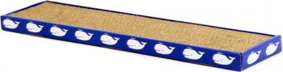 Rascador en cartón para gato ZOLIA TIPLOUF + hierba gatera incluída