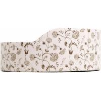 Griffoir en carton pour chat ZOLIA FLORETTE + herbe à chats incluse