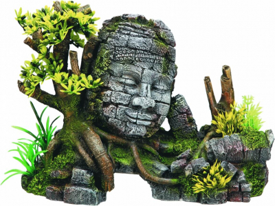 Décoration d'aquarium Statue Angkor Wat
