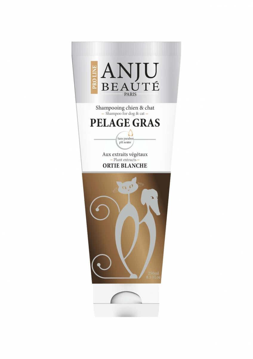 Shampoing Anju pelage gras  pour chien ou chat _0