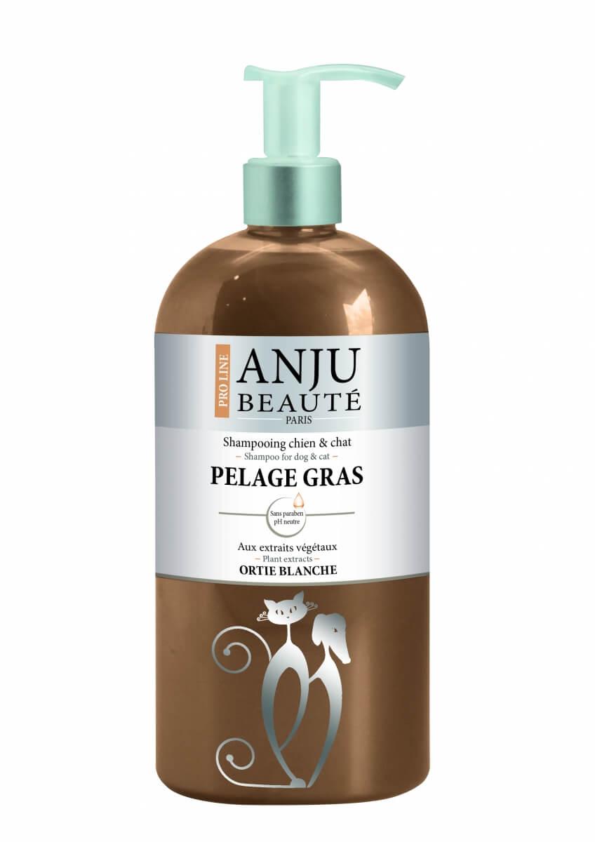 Shampoing Anju pelage gras  pour chien ou chat _1