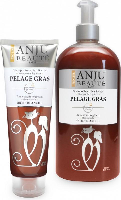 Shampoing anju pelage gras pour chien ou chat