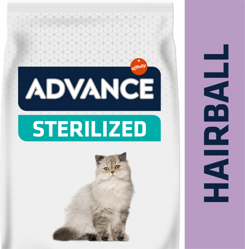 Advance Sterilized Hairball au poulet pour Chat Adulte Stérilisé