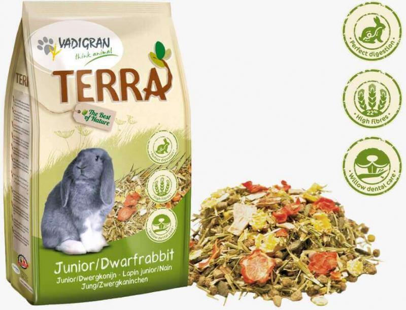 Vadigran Terra mélange Lapin nain & Junior