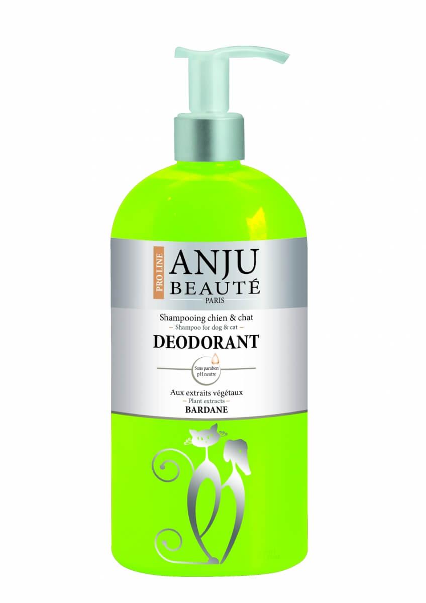 Shampoing Anju Déodorant Camphre, Bardane, Provitamines