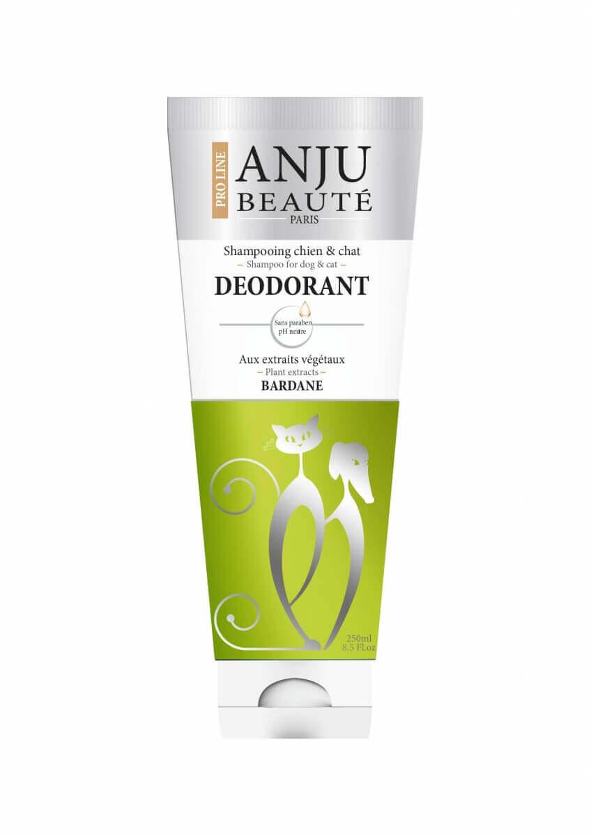 Shampoing Anju Déodorant Camphre, Bardane, Provitamines_0