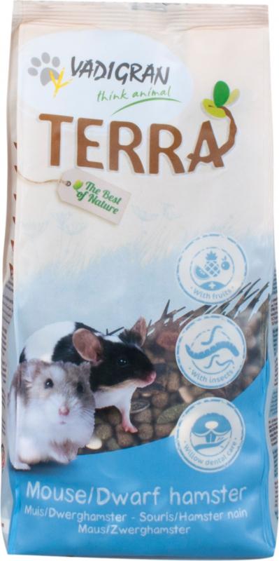 Vadigran Terra hamster nain et souris