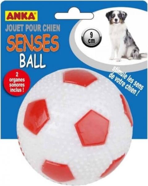 Jouet Balle Senses Sonore pour chien