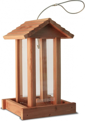 Mangeoire pour oiseaux Red Cedar Tyr