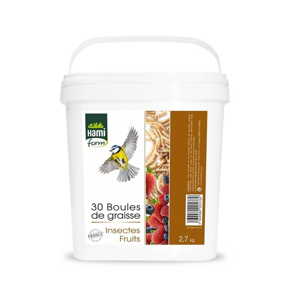 Seau Découverte Boules de graisse avec insectes et fruits _0