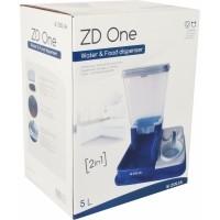 Distributeur 2 en 1 : croquettes et eau ZOLIA ZD One pour chiens et chats