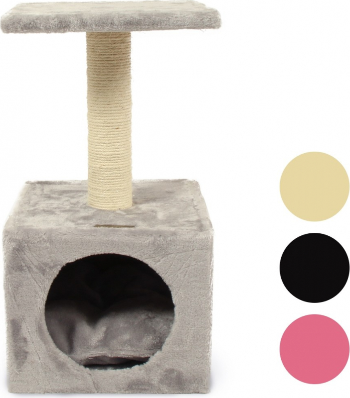 Arbre à chat ZOLIA NIKITA - plusieurs couleurs - 57cm
