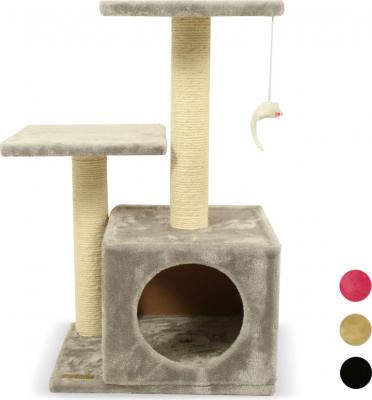 Kratzbaum ZOLIA ROKY mit Spielzeug - verschiedene Farben - 70cm