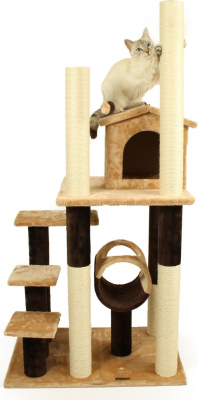 Arbre à chat ZOLIA PAPAYOU - 144cm