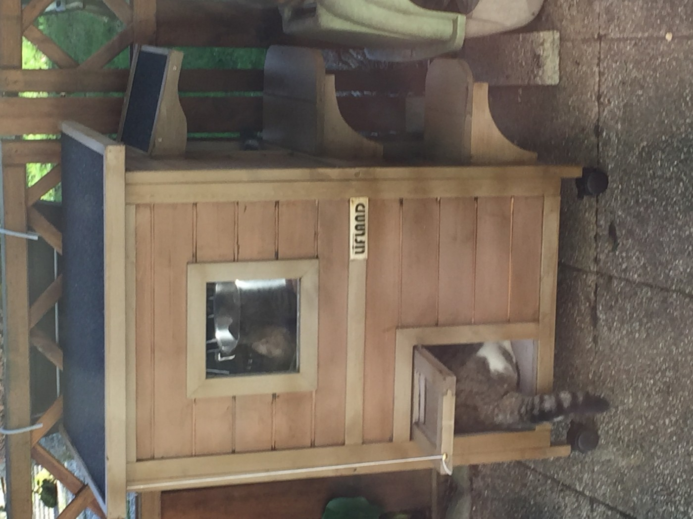 maison d ext rieur pour chat ventana blog. Black Bedroom Furniture Sets. Home Design Ideas