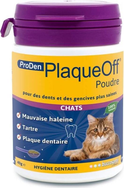 PlaqueOff ProDen tandpoeder voor katten