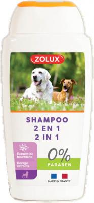 Shampooing 2 en 1 pour chien