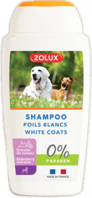 Shampooing poils blancs