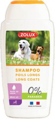 Shampooing poils longs