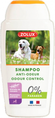 Shampooing anti-odeur pour chien