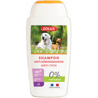 Shampooing anti-démangeaison pour chien