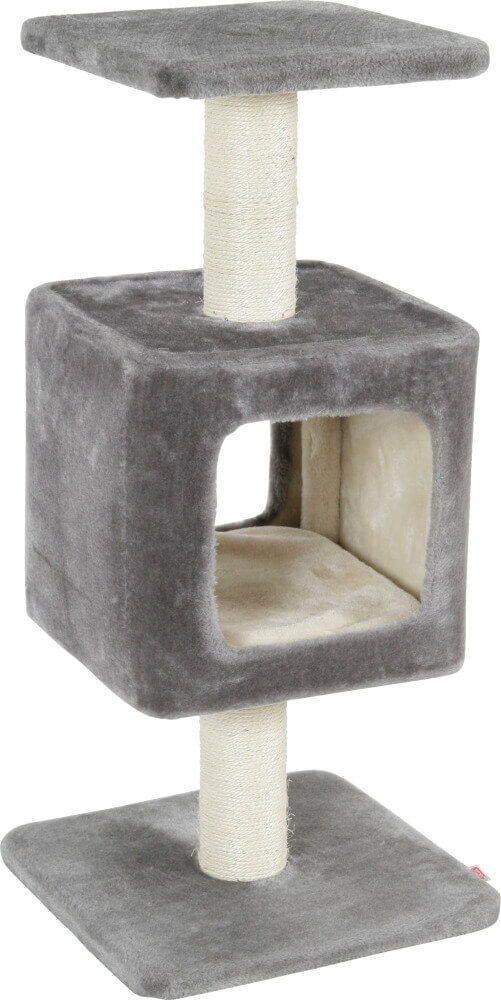 arbre chat cube 75cm arbre chat. Black Bedroom Furniture Sets. Home Design Ideas