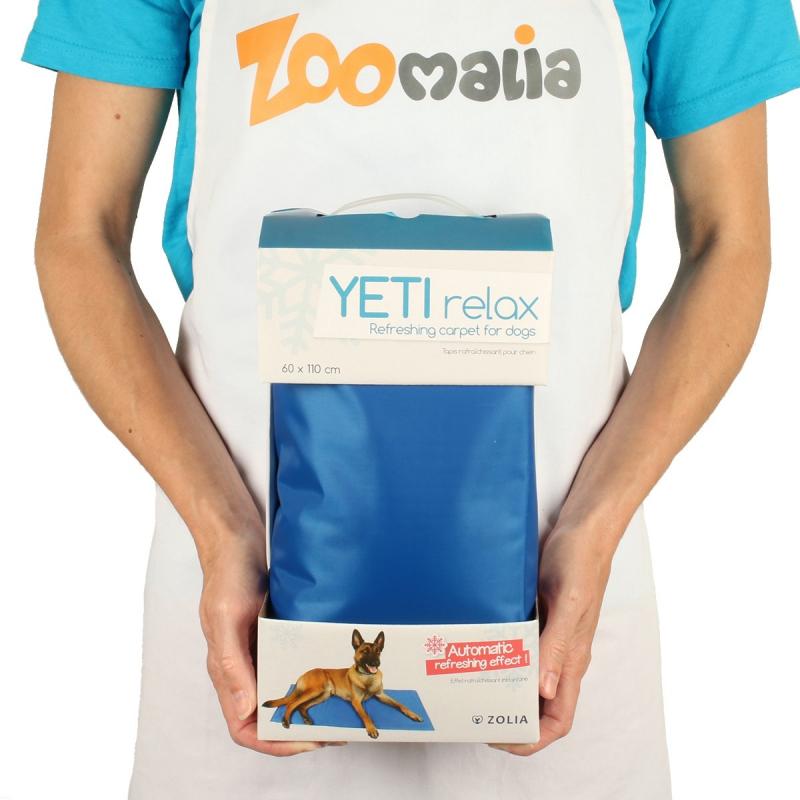 Tapis rafraîchissant orthopédique pour chien et chat YETI Relax Zolia de 50 à 110 cm